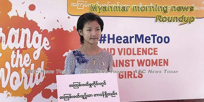 Myanmar morning news for November 26