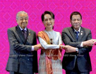 Oh dear, Mahathir