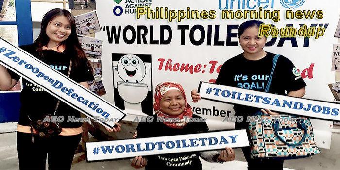 Philippines morning news for November 19