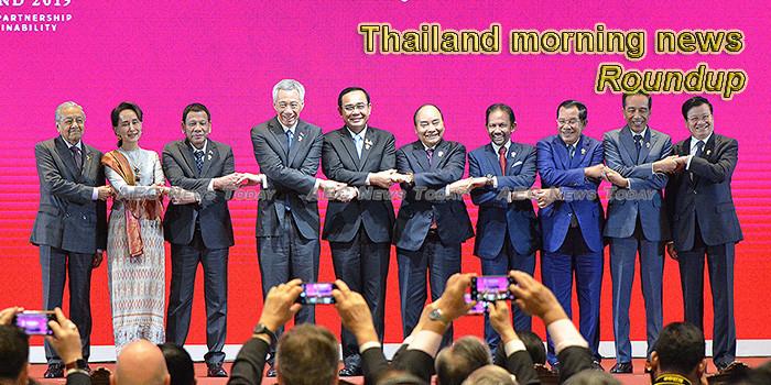 Thailand morning news for November 5