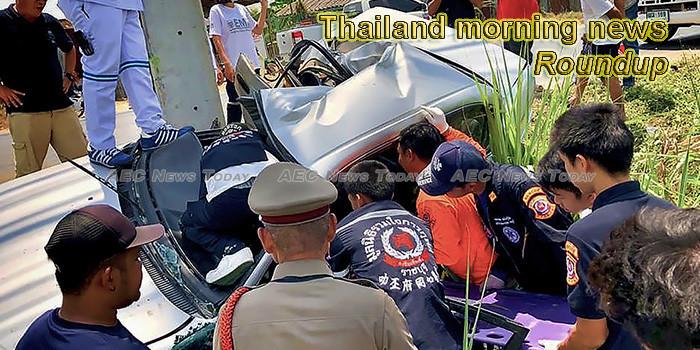 Thailand morning news for November 13