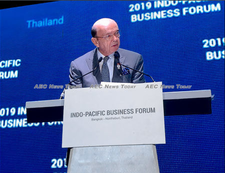 """""""The Indo-Pacific Business Forum is a key piece of this government-wide push, emphasising our role as the preferred commercial partner in the region"""" -- Wilbur Ross"""