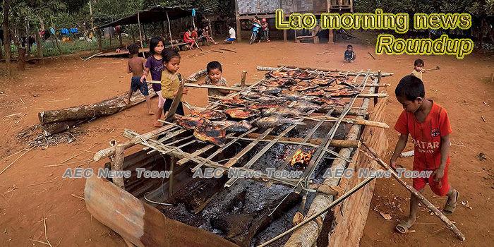Lao morning news for December 25