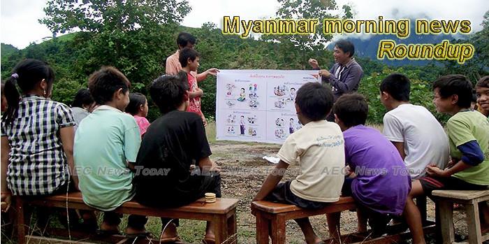 Myanmar morning news for December 3