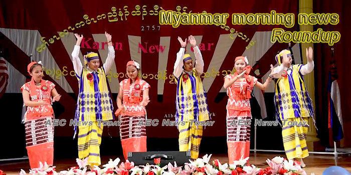 Myanmar morning news for December 23