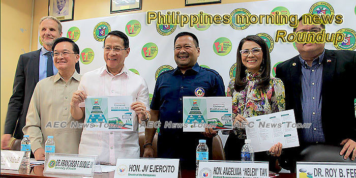 Philippines morning news for December 13