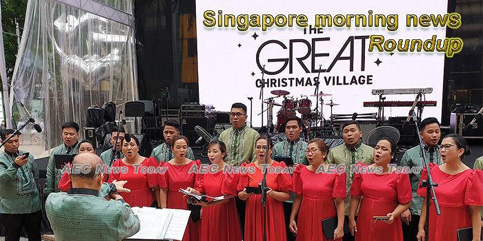 Singapore morning news for December 23