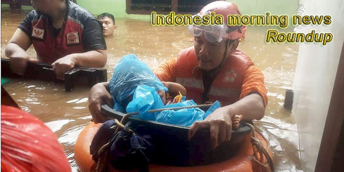 Indonesia morning news for January 10