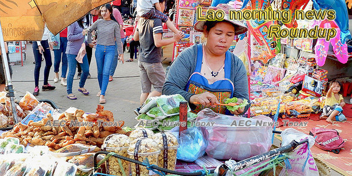 Lao morning news for January 6