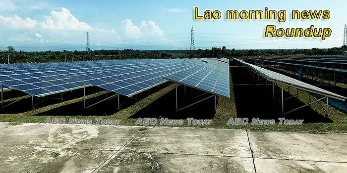 Lao morning news for January 13