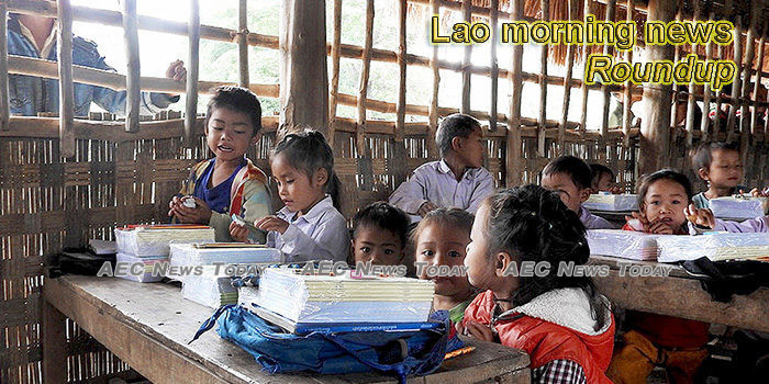 Lao morning news for January 22