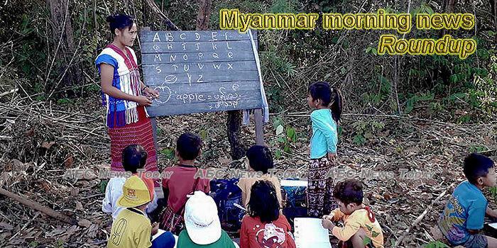 Myanmar morning news for January 22