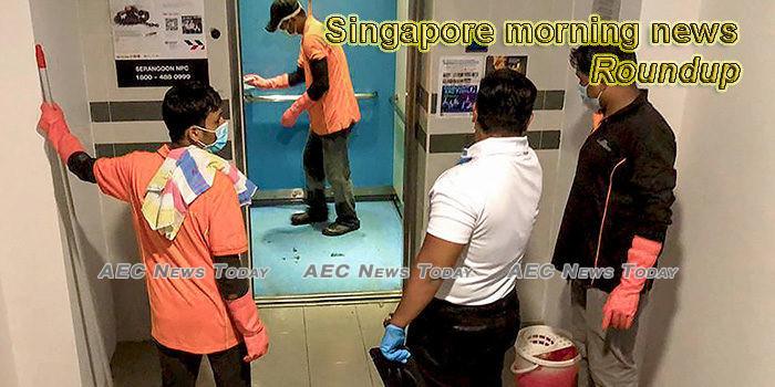 Singapore morning news for February 6