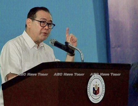 Philippine Foreign secretary, Teodoro Locsin Jr.: a total ban means Jeanalyn Villavende death is unavenged