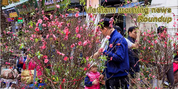 Vietnam morning news for January 24