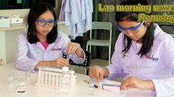 Lao morning news for February 14
