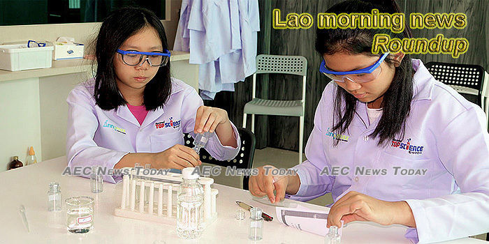 Lao morning news for February 12