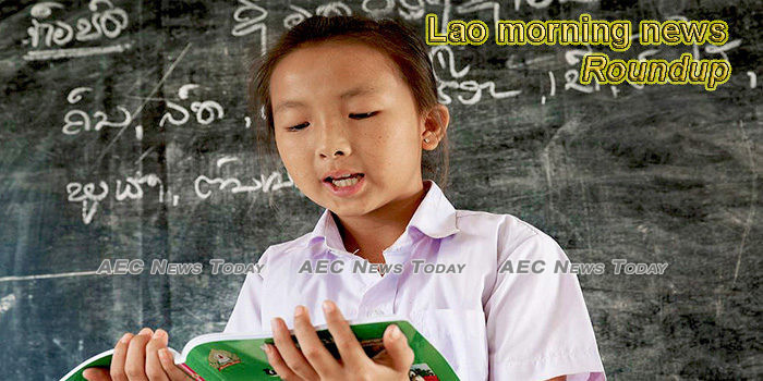 Lao morning news for February 17