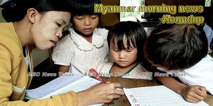 Myanmar morning news for February 19