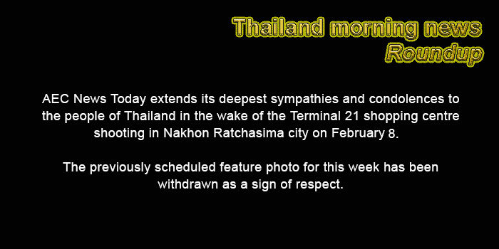 Thailand morning news for February 13