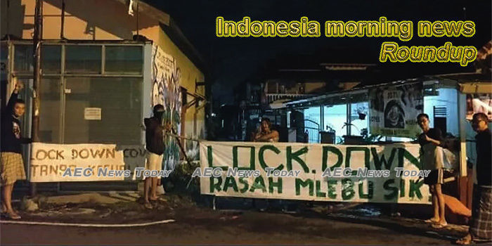 Indonesia morning news for March 31