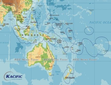 Kacific-1's footprint potentially covers billions of people