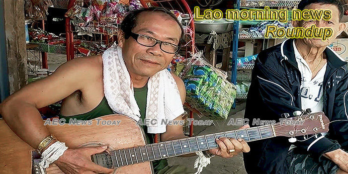 Lao morning news for March 12