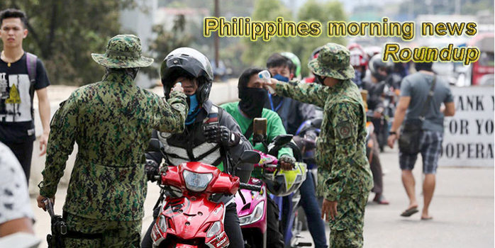 Philippines morning news for March 16