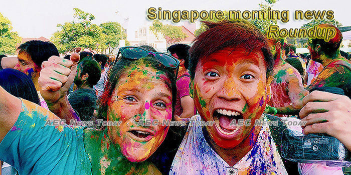 Singapore morning news for March 11