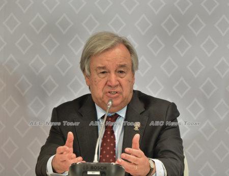 UN Secretary-General António Guterres: We must declare war on this virus