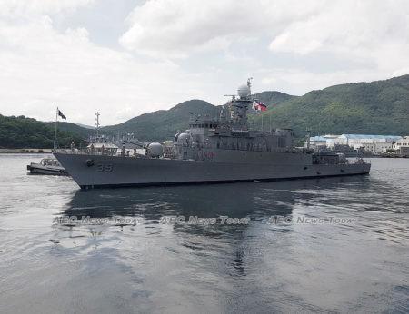 the BRP Conrado Yap (PS39) was targeted by a PLAN corvette's gun control director (GCD)
