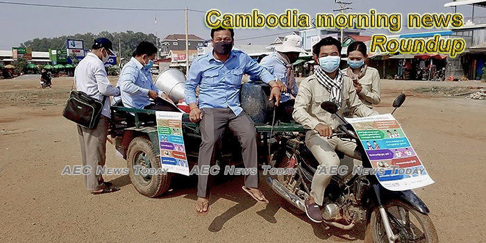 Cambodia morning news for April 9