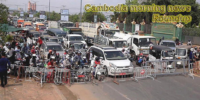 Cambodia morning news for April 13
