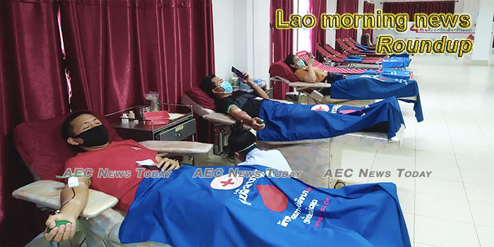 Lao morning news for April 14