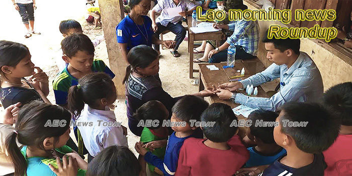 Lao morning news for April 24