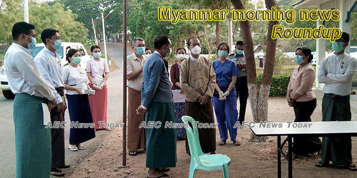 Myanmar morning news for April 9