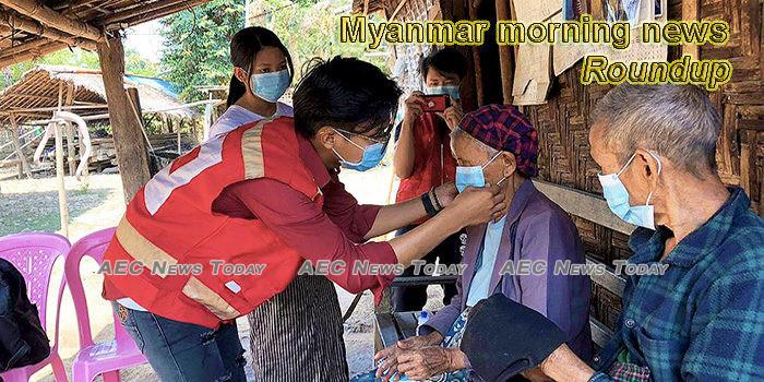 Myanmar morning news for April 14