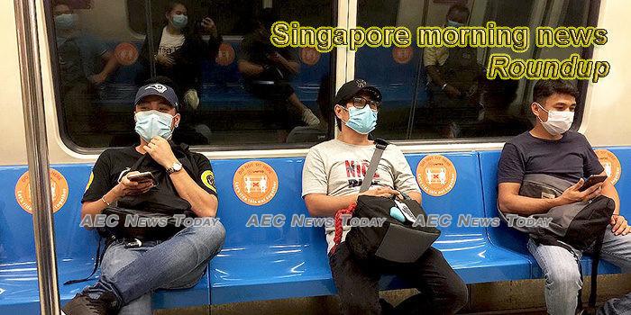 Singapore morning news for April 14