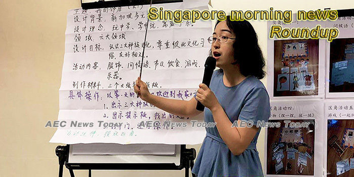 Singapore morning news for April 23
