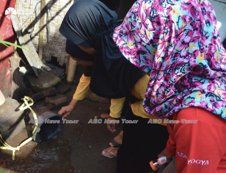 Health authorities have blamed the outbreak on poor sanitary conditions