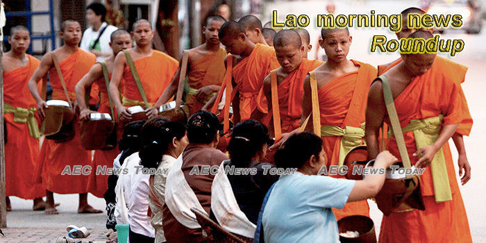 Lao morning news for May 5