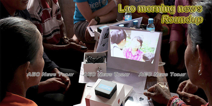 Lao morning news for May 13