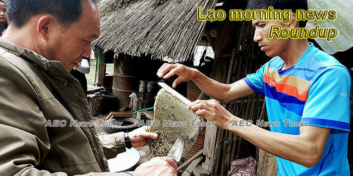 Lao morning news for May 18