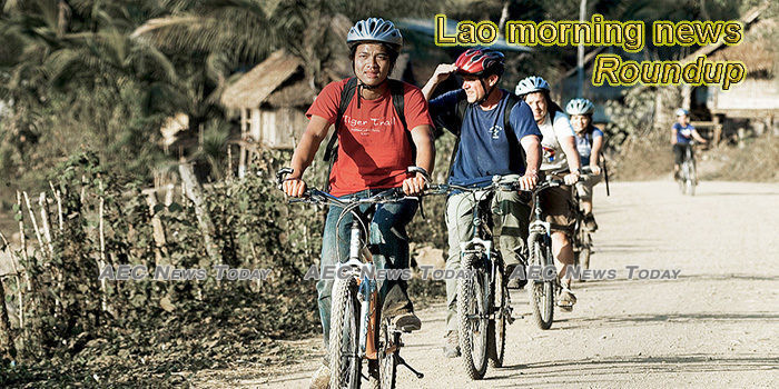 Lao morning news for June 3