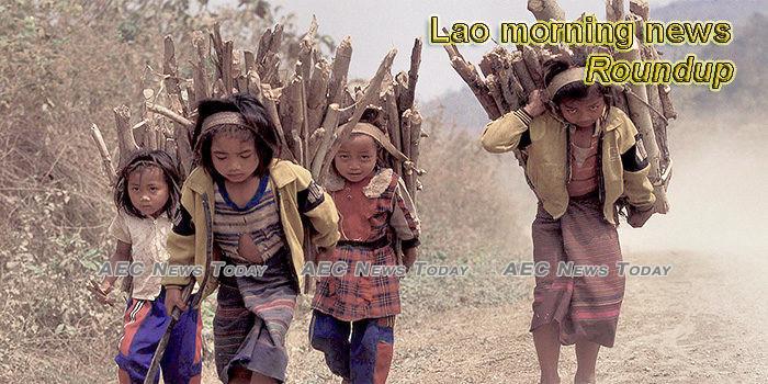 Lao morning news for June 10