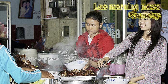 Lao morning news for June 25