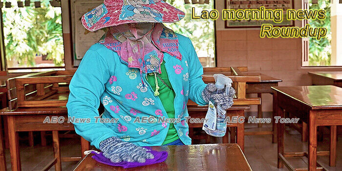 Lao morning news for July 1
