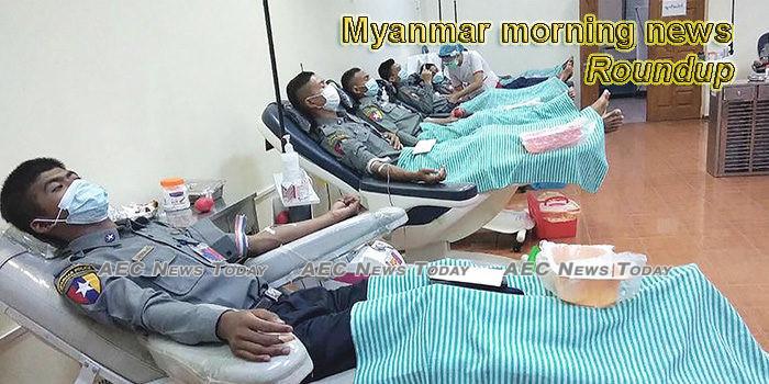 Myanmar morning news for June 8