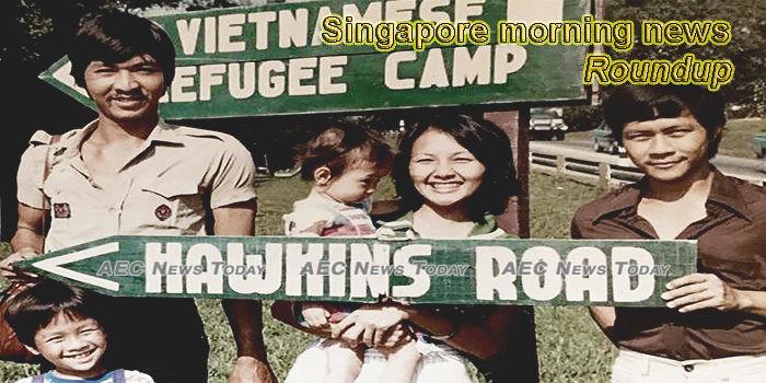 Singapore morning news for June 18
