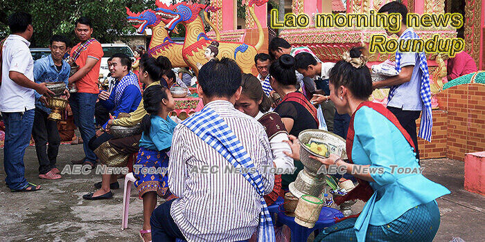 Lao morning news for July 6